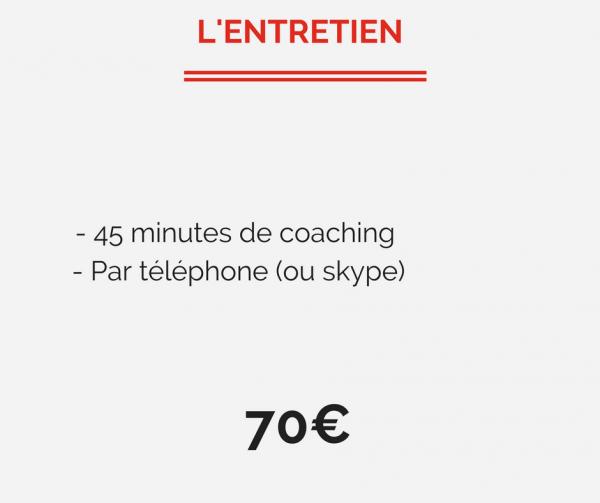 Coaching entretien